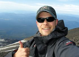 Chris Henrickson on Mount St. Helens Climb