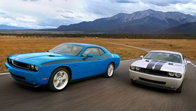 2010 Dodge Challenger and Challenger SRT8