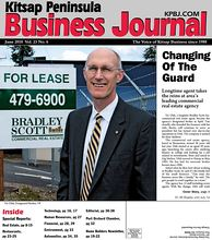 Kitsap Peninsula Business Journal Cover June 2010 - Vic Ulsh, Designated Broker, VP
