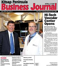Cover Story: Scott Bosch, CEO, President and David Tinker, MD, chief of cardiology
