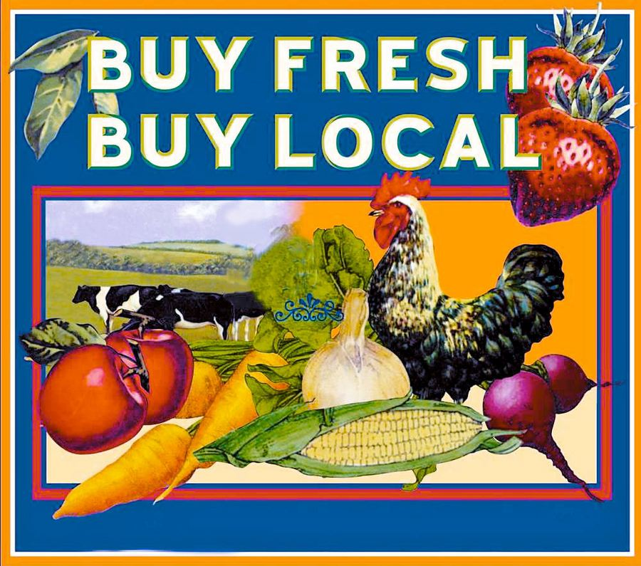 Locally Grown Food. By buying locally grown food