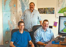 John Kieffer, Mark Eisses, and Pat Fuhrer