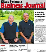 L-R: Daryl Maheny and Scott Alexander, Gold Mountain Golf Club