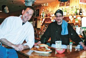 L-R: McCloud's Owner Andy Graham and chef John Snider
