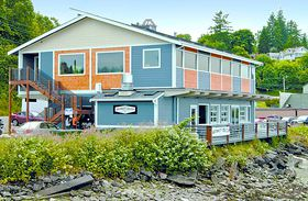 Annapolis Fitness Studio and Whiskey Gulch Coffee Co. recently opened in this renovated waterfront building next to the Annapolis ferry dock in Port Orchard.