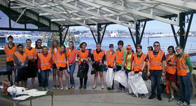 Celebrating Earth Day Cleanup Team 2012