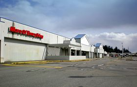 The mostly empty retail center in the 4200 block of Wheaton Way in Bremerton includes large buildings that once housed anchor tenants Lowe's, Albertson's, Rite-Aid and Kmart. The property owners said they hope to bring in some new tenants in the near future to fill some of the vacant commercial space.