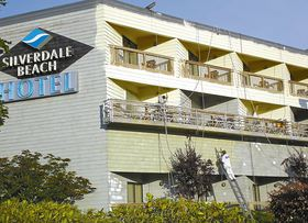 The Silverdale Beach Hotel is getting its exterior repainted as part of remodeling inside and out at the hotel, which was sold to a group of investors recently and will become a Best Western.