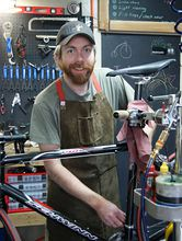 Aaron Duffin, owner of Bicycle-Works in Bremerton