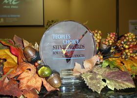 The 2013 People's Choice Stevie Award for Favorite New Product in the computer hardware category went to Boxlight for its ProjectoWrite5 interactive projector.