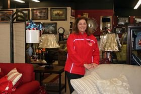 Sally Glivar, owner of Great American Furniture in Bremerton's Charleston district, originally opened the store with her husband and her father.