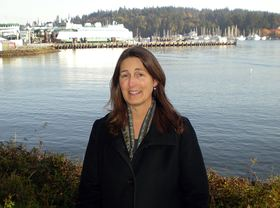 Katie Jennings of Bainbridge Island is the coordinating producer at Seattle public television station KCTS 9 for the Quest scientific education program.