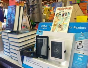 Kobo e-readers are displayed at Liberty Bay Books in Poulsbo. (Tim Kelly Photo)