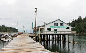 The new owners of the Lakebay Marina reopened the cafe and have been hosting events such as beer and wine tasting and live music at the historic location on the Key Peninsula. They are also restoring some cabins on the shore nearby that will be available as rentals.
