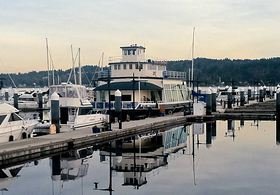 A restored 1924 ferry that is moored at the Bremerton Marina and will be used as a floating venue for social events. (Tim Kelly Photo)