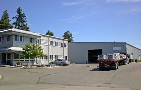 A California-based composites manufacturer will soon move into this building the company bought in the Port Orchard Industrial Park.