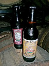 Silver City Brewery in Bremerton makes Old Scrooge Christmas Ale, and does a limited release of Bourbon Barrel Aged Old Scrooge.
