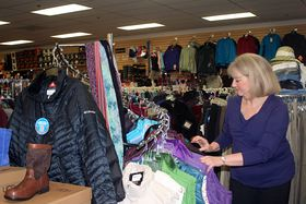 Paulette Huisingh is the longtime owner of Sport Haus in Poulsbo.