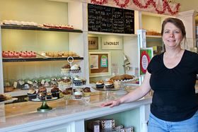 Melissa Beers owns Sweet Melissa's bakery in Uptown Gig Harbor. (Click for Video)