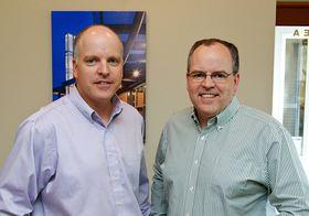 Kevin Ryan, left, and Dan Ryan