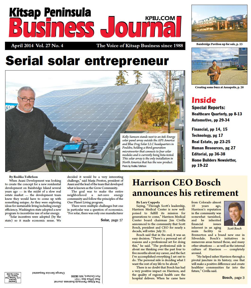 Serial solar entrepeneur