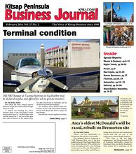 Cover Story: Terminal condition - Old FBO hangar at Tacoma Narrows in Gig Harbor may be declared surplus and offered for sale to private investors