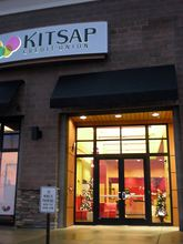 The Kitsap Credit Union branch in Uptown Gig Harbor will remain open when KCU closes its other branch in north Gig Harbor and consolidates the two operations in early 2014. (Tim Kelly photo)