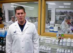 Brandon Knott is the certified compounding pharmacist who owns and operates Cascade Specialty Pharmacy, formerly called Poulsbo Compounding Pharmacy. (Tim Kelly photo)