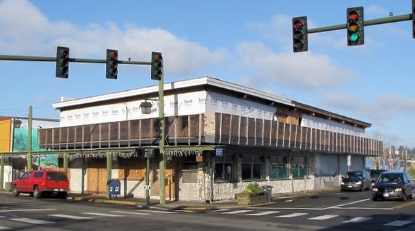 The vacant Myhre's building on Bay Street in downtown Port Orchard.