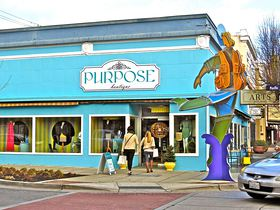 Purpose Boutique recently expanded into a larger space in the building at the corner of Fourth Street and Pacific Avenue in downtown Bremerton. (Amy Burnett photo)