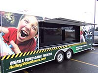 Puget Sound Rolling Video Games has a 32-foot trailer equipped as a mobile gaming theater.
