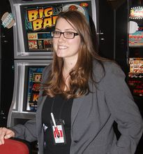 Rochelle Stockwell is slots manager at Clearwater Casino Resort.