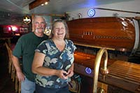 Dave Tagert and Stacy Bronson spent more than a year working on remodeling and customizing the space for their new establishment. The Swimdeck held its grand opening on June 29 on Bay Street in downtown Port Orchard.